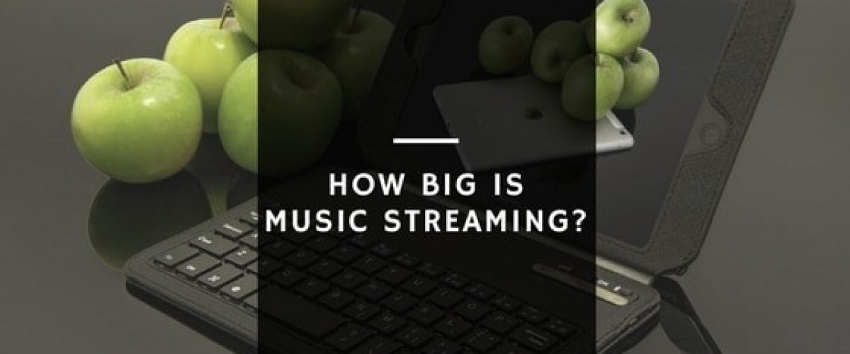 Digital music streaming market
