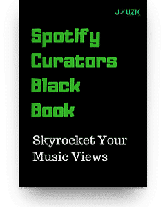 Spotify Curators Black