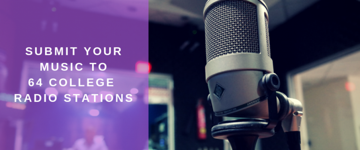 Top college radio stations to submit your music to