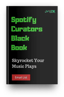 Spotify Curators Email list