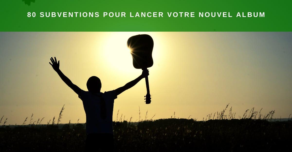 80 subventions pour financer son album au Québec Canada